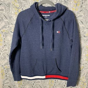 TOMMY HILFIGER Girls Large Hoodie Flag Stretchband